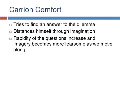 carrion comfort analysis gerard manley hopkins
