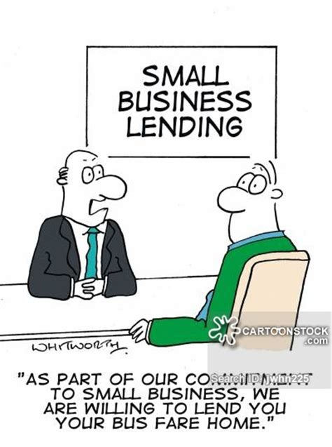 Small Business Banker by Entrepreneur And Comics Pictures From Cartoonstock