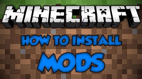 mods in minecraft install how to install mods for minecraft 1 8 windows 10 youtube