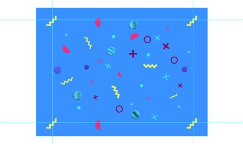 pattern using basic shapes how to create a 90s geometric pattern using basic shapes