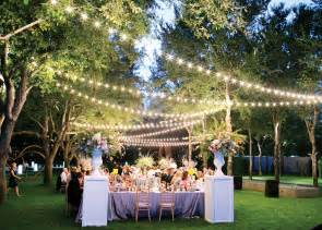 lighting outdoor wedding beautiful lighting ideas for an outdoor wedding