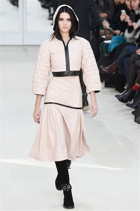 channel fashion kendall jenner chanel fashion show in march 2016