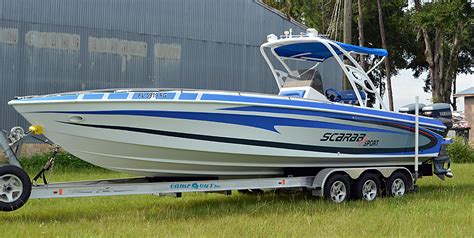 scarab boat wrap bb graphics the wrap pros - Scarab Boat Graphics