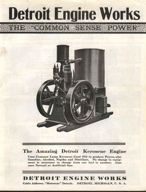 detroit engine works detroit free engine image for user first run detroit engine works 2 5 hp smokstak