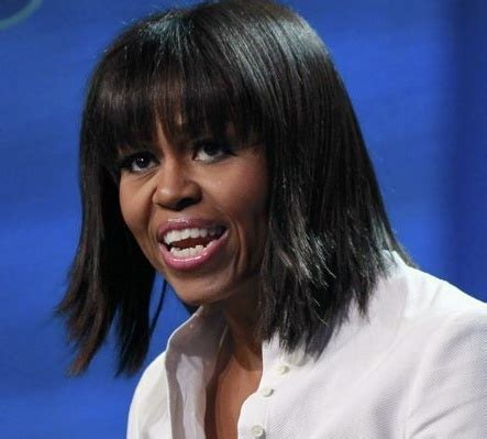 obama wife haircut biden called michelle s new hairdo quot ghetto chic quot and