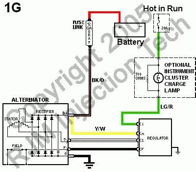 electrical voltage regulator wiring ford truck