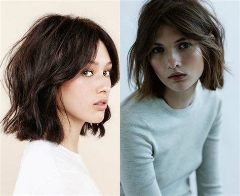 wavy hair blunt bottomed bob 17 best images about hair hair everywhere on pinterest