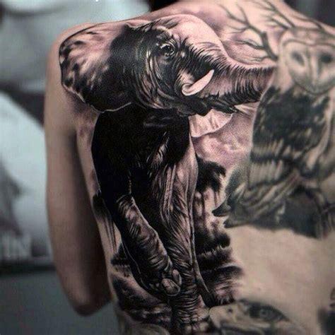 tattoo animal back 100 animal tattoos for men cool living creature design ideas