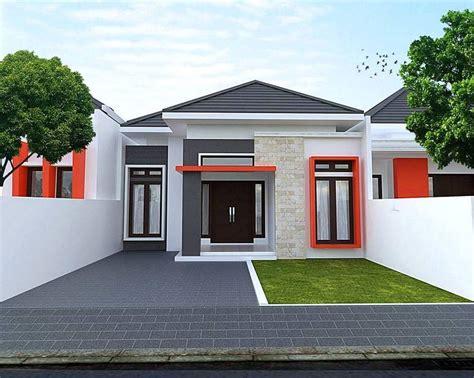 desain bentuk depan rumah minimalis desain rumah minimalis type 36 tak depan 1 lantai