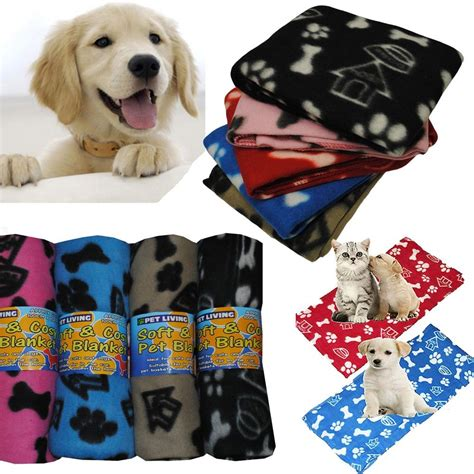 Blankets With Dogs On Them by New Pet Touch Soft Fleece Pet Blanket Dogs Puppy Blanket