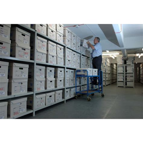 Archive Storage Racking by Archive Storage System Suppliers P D Projects Ltd