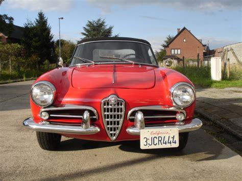 Alfa Romeo Giulietta Usa by Scaduto Vendo Alfa Romeo Giulietta Spider 1960 Usa