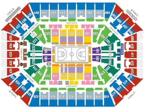 bucks seating chart milwaukee bucks tickets 2017 2018