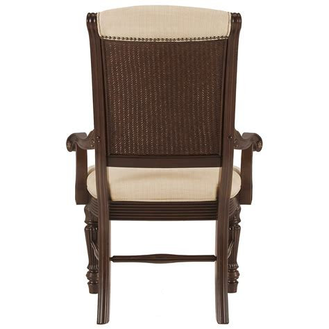 city furniture tradewinds tone upholstered arm chair