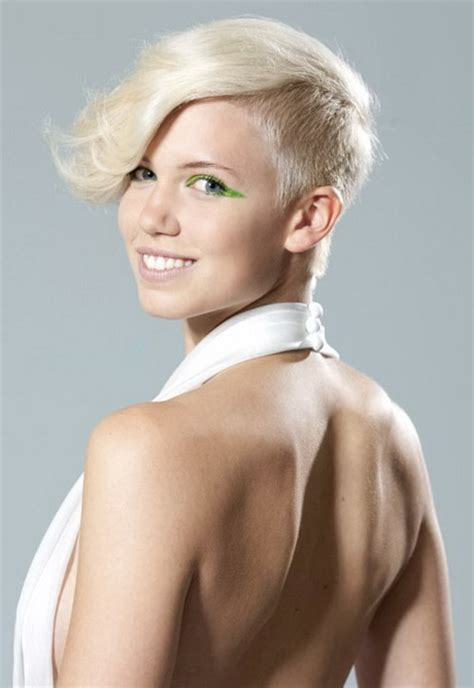 side haircuts women shaved sides hairstyles women