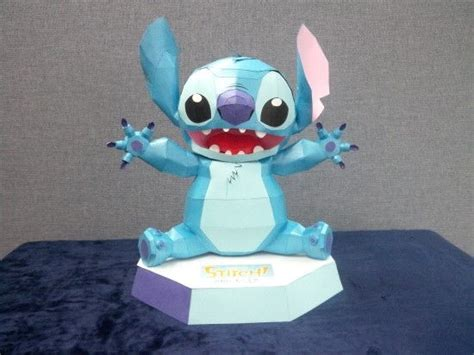 Stitch Papercraft - disney lilo stitch stitch free papercraft