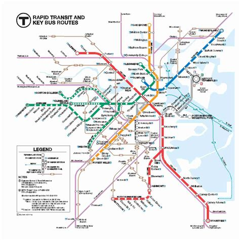umass cus map mbta new station maps massdot