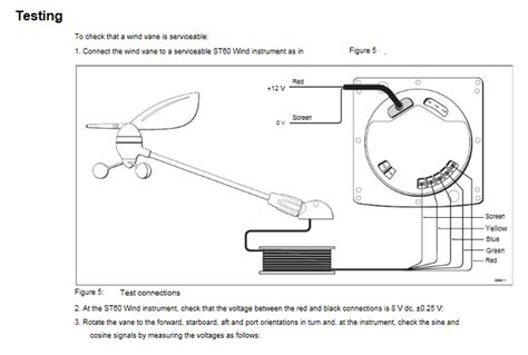 raymarine st60 wind vane replacement wiring diagrams
