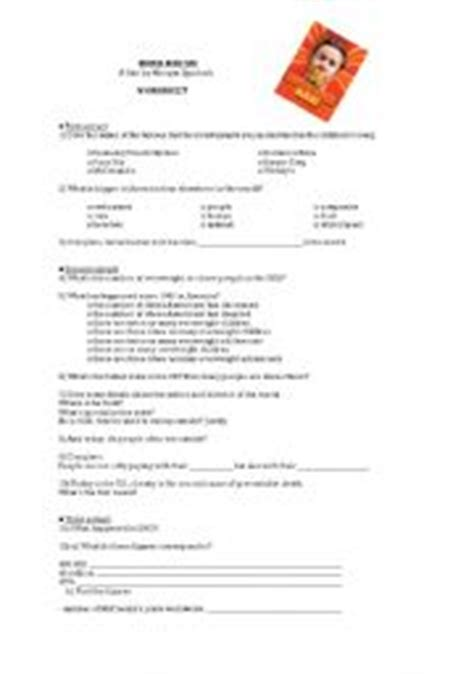 Supersize Me Worksheet Answers by Pictures Size Me Worksheet Answers Getadating
