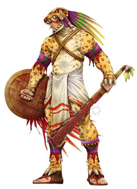 imagenes mitologicas zapotecas warriors in art guerreiro jaguar by gleydson a caetano