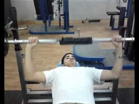 one handed bench press srulikbrulik one hand bench press youtube