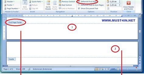 cara membuat nomor halaman atas dan bawah online firmware cara mengatur letak nomor halaman di