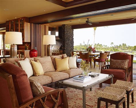 tropical living rooms hawaii residence tropical living room hawaii by