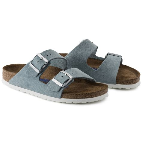 light blue leather arizona suede leather light blue shop at birkenstock