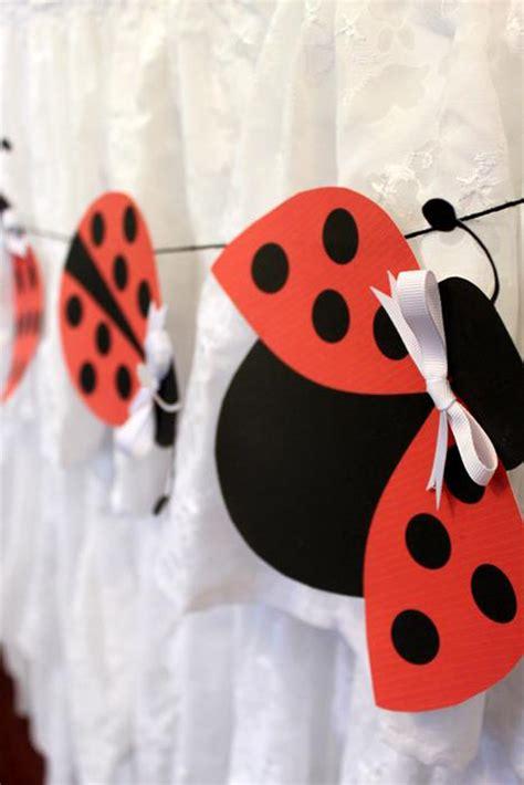Ladybug Decorations by Kara S Ideas Lovebug Ladybug Birthday Ideas