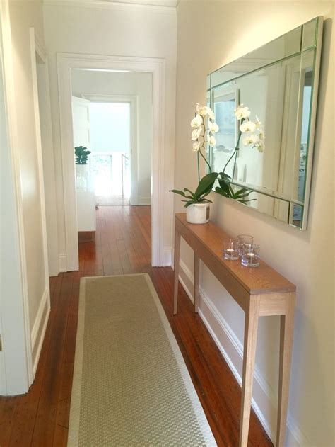 narrow console table for hallway best 25 narrow hallway decorating ideas on