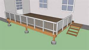 building deck plans how to build a deck on the ground howtospecialist how