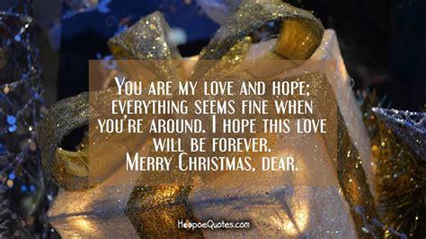love  hope   fine  youre   hope  love