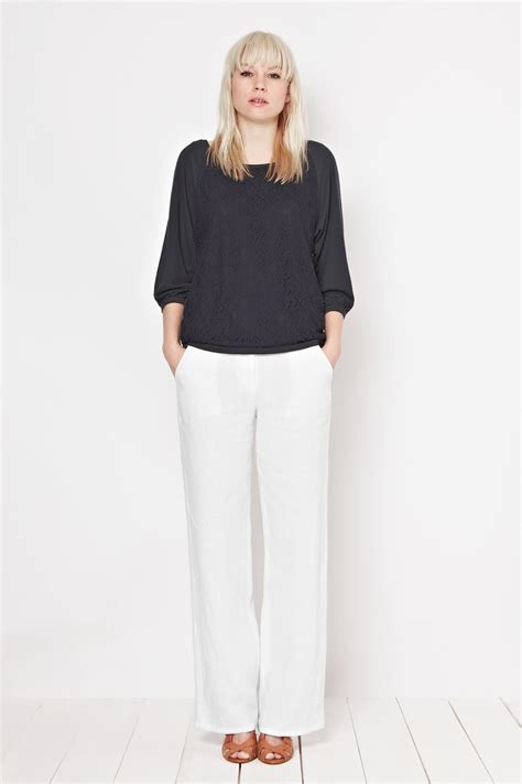 Wide Leg 4 Great Finds For The Look by Whitby Linen Wide Leg Trousers Trousers Shorts Great