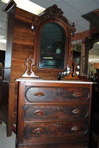 antique victorian burl walnut marble top dresser chest circa    ft antique