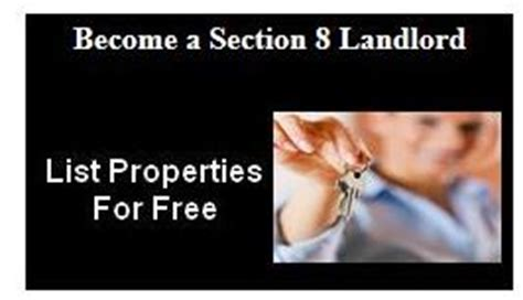 how to become a section 8 landlord apply for section 8 online find open waiting list