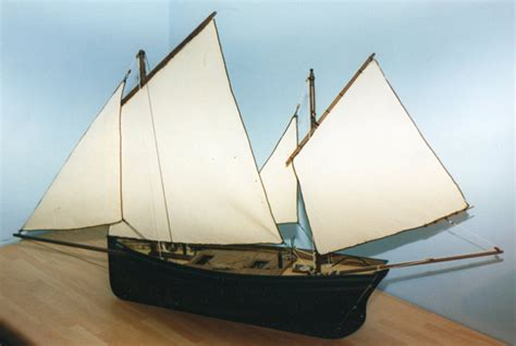 how to build a model boat from scratch cornish lugger