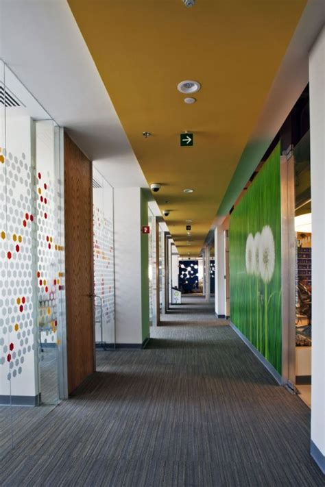 Interior Architecture Office by Colorful Corporate Office Interior Design By Space