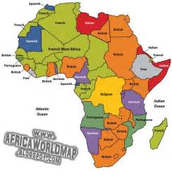 Africa World Map by Gallery For Gt Africa World Map
