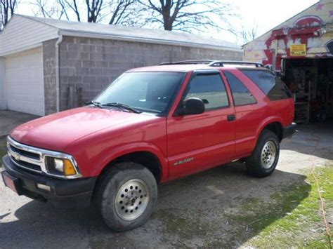 accident recorder 1996 chevrolet blazer seat position control purchase used 1996 chevrolet blazer ls sport utility 2 door 4 3l in louisville kentucky united