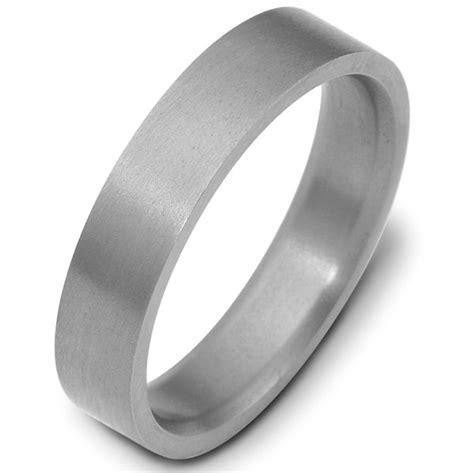 x114751ti titanium 5mm wide comfort fit wedding band