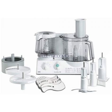 braun cucina robot da cucina braun combimax k 700 vital white