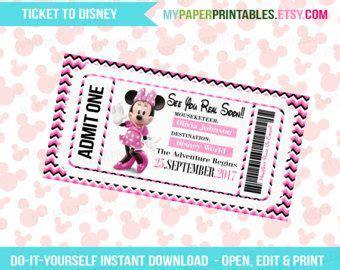 printable fake disneyland tickets best 25 tickets to disneyland ideas on pinterest