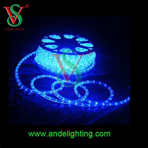 china manufacturer led programmable rgb rope lighting