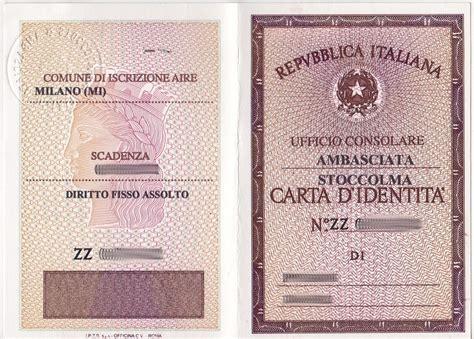 chi rilascia il permesso di soggiorno carte d identit 224 e referendum un italiano in svezia
