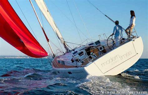 Mukena Stnadar 415 hanse 415 standard fiche technique de voilier sur boat specs