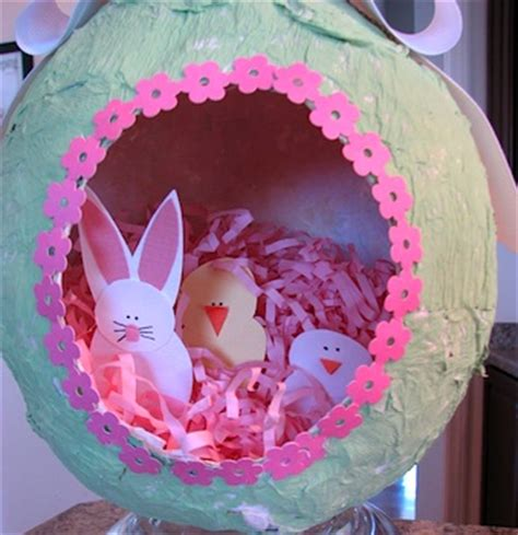 easter egg diorama printable paper craft diorama easter egg things to make and do crafts and