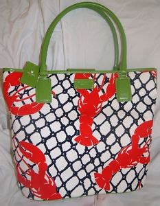 Purse Deal Kate Spade Cape Cod Lobster Bags by New Kate Spade Large Shopper Cape Cod Tote Bag Nwt Lobster