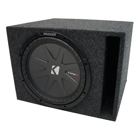 Kicker Sz 39 43 universal car stereo vented port single 12 quot kicker compr cwr12 sub box enclosure 2