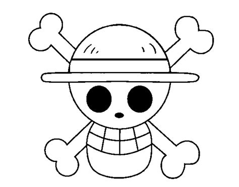 straw hat coloring page straw hat flag coloring page coloringcrew com