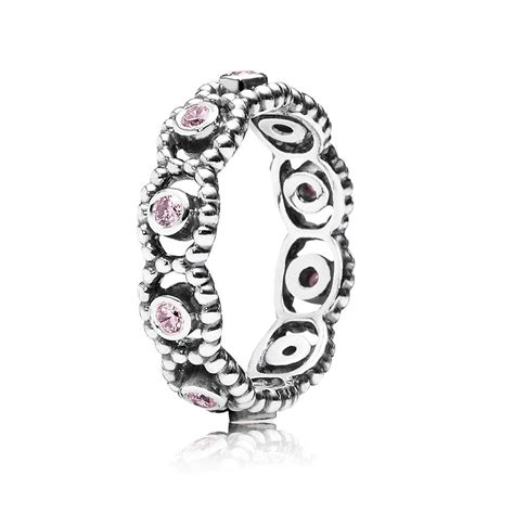 pandora rings pandora pink ring 190881pcz pandora from gift